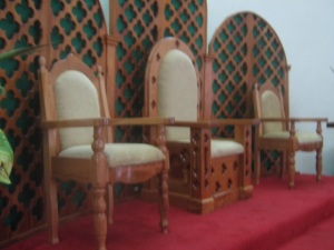 Grandbay celebrant chairs