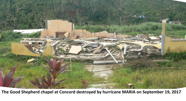 CONCORD chapel destroyed September 2017